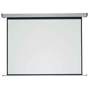 Platno projekcijsko električno zidno 200x150cm Nobo 1901972 sivo