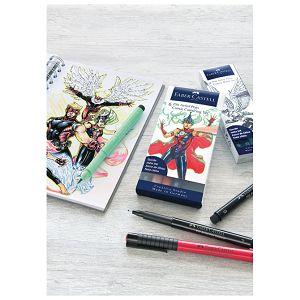 Flomaster Pitt artist  6boja Comic Colouring Faber Castell 267196 blister