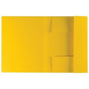 Fascikl klapa karton reciklirani A4 Herlitz 11076437 žuti