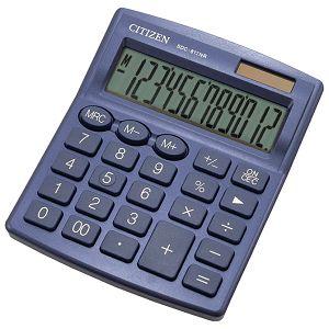 Kalkulator komercijalni 12mjesta Citizen SDC-812NRNVE plavi blister
