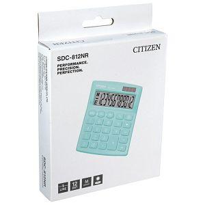 Kalkulator komercijalni 12mjesta Citizen SDC-812NRGNE zeleni blister