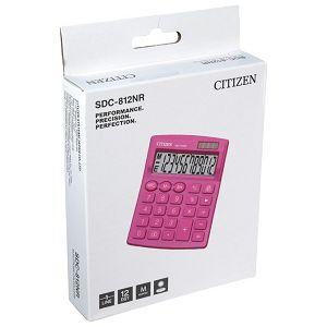 Kalkulator komercijalni 12mjesta Citizen SDC-812NRPKE rozi blister