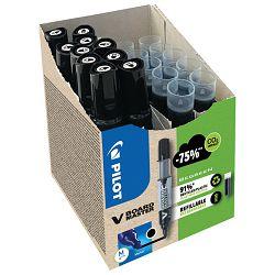 Set marker za bijelu ploču 2,3mm V Board Master Begreen pk10 Pilot + refili (5+5 gratis) crni