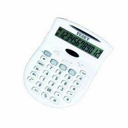 Kalkulator Texet SL-813CSM  white 12D