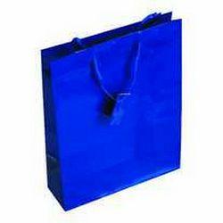 Vrećica glossy M plava