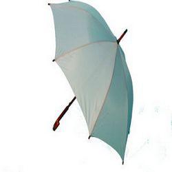 Kišobran drvena drška srebrni