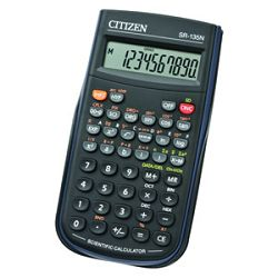 Kalkulator tehnički  82mjesta 128 funkcija Citizen SR135N crni blister