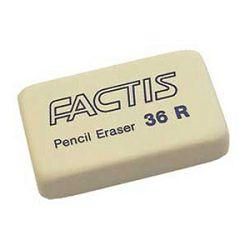 Gumica sintetička 36R Factis bijela komad