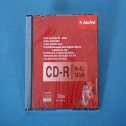 CD-R 700 MB JASLEN 52x SLIM BOX