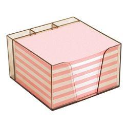 Blok kocka pvc 10x85x6cm s papirom u boji Elisa