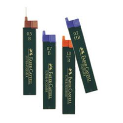 Mine 07mm 2B polymer 1tuba Faber Castell 9127