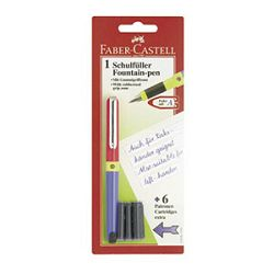 Nalivpero školsko6patrona Faber Castell 149898 blister