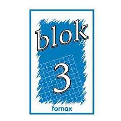 Blok za bilješke  80x130mm 50L br3 Fornax