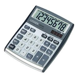 Kalkulator komercijalni  8mjesta Citizen CDC80 srebrni blister