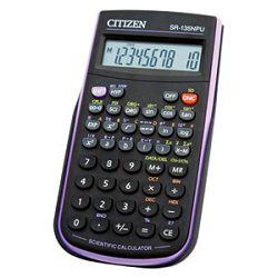 Kalkulator tehnički  82mjesta 128 funkcija Citizen SR135NPU crniljubičasti blister