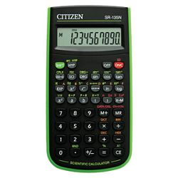 Kalkulator tehnički  82mjesta 128 funkcija Citizen SR135NGR crnizeleni blister