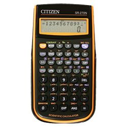 Kalkulator tehnički 102mjesta 236 funkcija Citizen SR270NOR crninarančasti blister