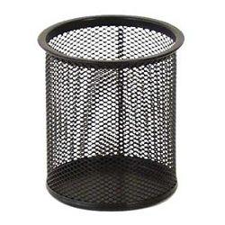 Čaša za olovke metalna žica okrugla fi9xH97cm LD01188 Fornax crna