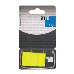 Zastavica 254x432mm 50L Global Notes 772805 fluorescentno žuta blister
