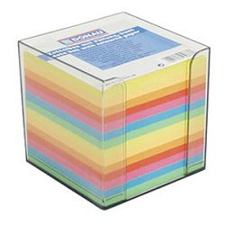 Blok kocka pvc  95x95cm s papirom u boji intenzivnoj Donau