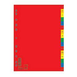 Pregrada plastična A4 AZ kolor 16L Donau 7726