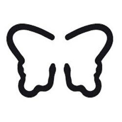 Bušač 1 rupa   mala leptir popup Heyda 2036874 48 blister