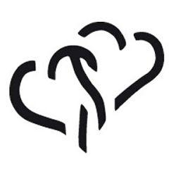 Bušač 1 rupa   mala srce popup Heyda 2036874 51 blister