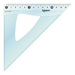 Trokut pvc 21cm 45 Cristal Maped 146123