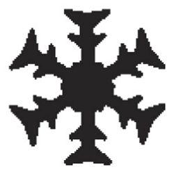 Bušač 1 rupa   mala pahulja Heyda 2036874 42 blister