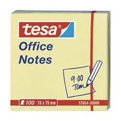 Blok samoljepljiv  75x75mm 100L Office notes Tesa žuti