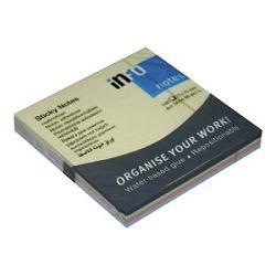 Blok samoljepljiv  75x75mm 100L4bojex25l Global Notes mix