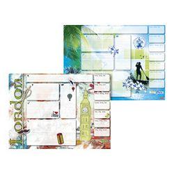 Mapa stolna blok 585x435cm 40 listova Reverse 14 Brunnen