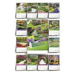 Kalendar Vrtovi 2016 13 listova spirala