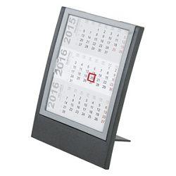 Kalendar stolnipomični 13x175cm metalik sivi