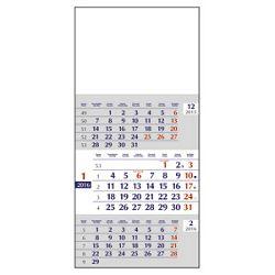 Kalendar zidni trodijelni mali 20163 mjeseclistu klaman