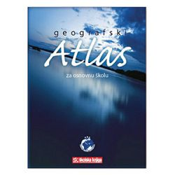Atlas geografski za osnovnu školumeki uvez Školska Knjiga