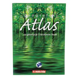 Atlas geografski za gimnazije i strukškole Školska Knjiga