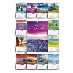 Kalendar Čarobna priroda 2016 13 listova spirala