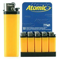 Upaljač jednokratni sjajni Atomic Reibrad Trober 3947505 žuti