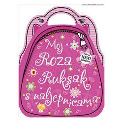 Slikovnica Moj slatki roza ruksak s naljepnicama Školska Knjiga