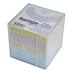 Blok kocka pvc  92x92cm s papirom u boji pastelnoj Fornax
