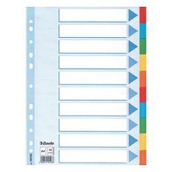 Pregrada kartonska A4 kolor 10listova Esselte 100193