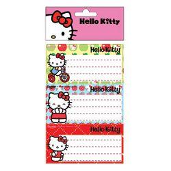 Etikete školske papir Hello Kitty Target blister