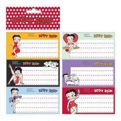 Etikete školske papir Betty Boop Target blister
