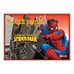 Kolaž papir 10listova B5 samoljepljivi Spiderman Target