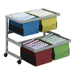 Kutija za viseće mape s kotačićima za 4x50 mapa Durable 308710