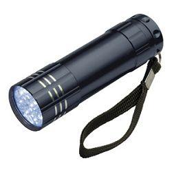Svjetiljka ručna  9 LED metalna Easy 1904 crna