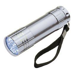 Svjetiljka ručna  9 LED metalna Easy 1904 srebrna