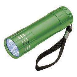 Svjetiljka ručna  9 LED metalna Easy 1904 zelena