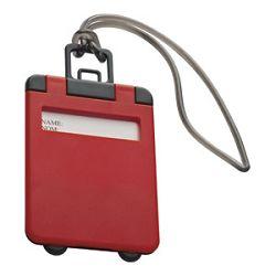 Privjesnica za prtljagu za osobne podatke Easy 7918 crvena